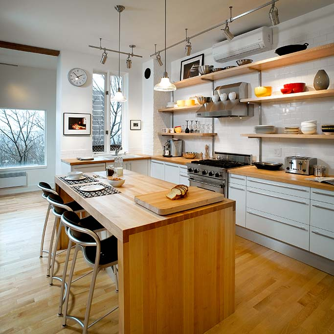 photo de déco cuisine Steinberg Mont-Royal - Guy Tessier Photographe